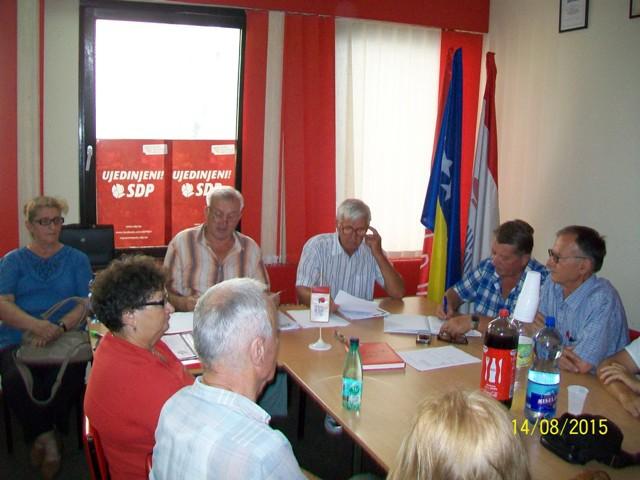Konvencija Foruma seniora OOSDPBiH Tešanj