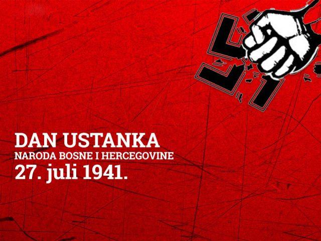27. juli - Dan ustanka naroda BiH