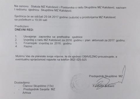 MZ Kalošević